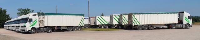 flotte camion tphl transport benne